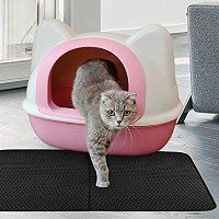 bandeja de area para gato
